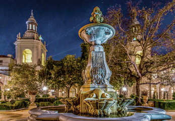 The Historic Pasadena City Hall in Los Angeles