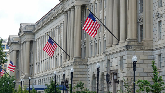 US Department of Commerce in Washington DC