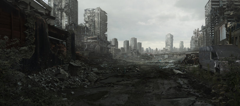 Ruined Cityscape