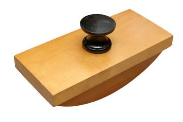 Antique wooden ink blotter