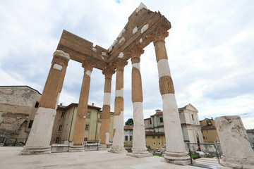 archaeological area of Aquileia, ancient Roman city and UNESCO world heritage, Italy