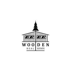 Tree house logo design - carpenter wood work