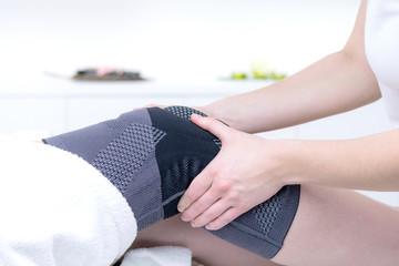 kniebandage zur therapie bei partellaluxation