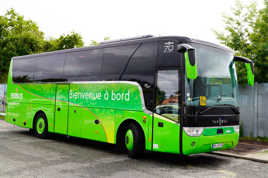 french VERBUS specializing in bus travel trips van hool coach bus