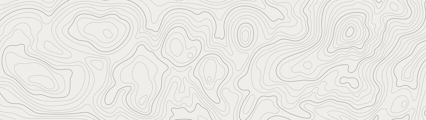 topographic line contour map background, geographic grid map