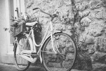 Papiers peints Velo bicycle on the street