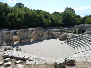 Roman theatre, Butrint, Albania