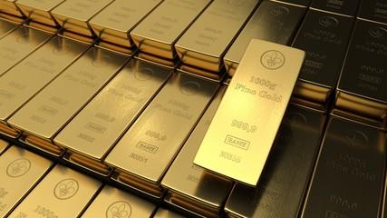 Fine Gold Bars 1000g