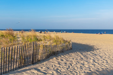 Beach in Long Branch