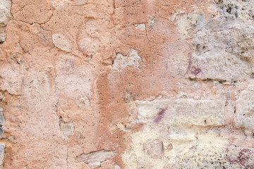 Papiers peints Vieux mur texturé sale Old weathered wall background or texture
