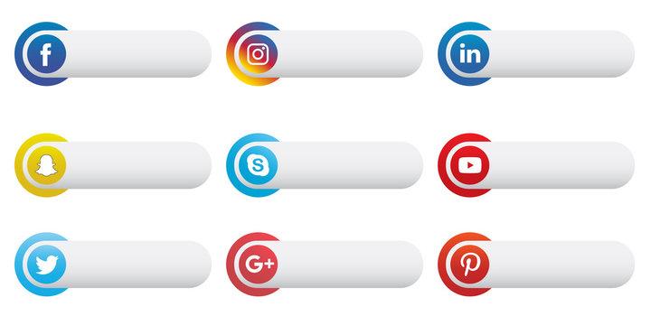 Social Media Label Set 2