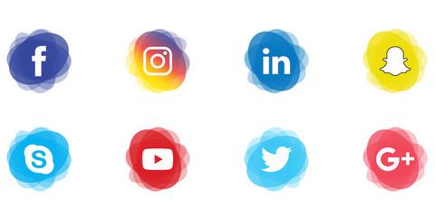 Social Media Label Set 3