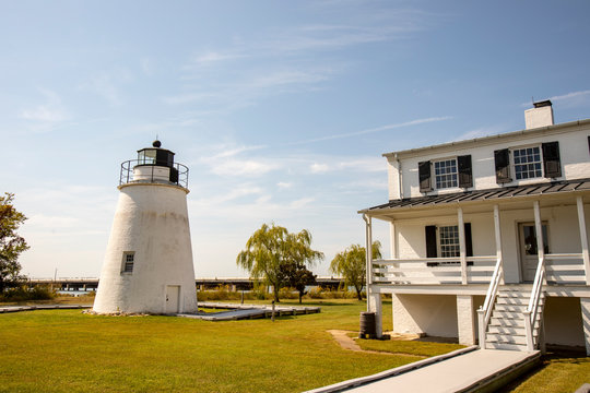 Piney Point Lighthouse and Keepers House