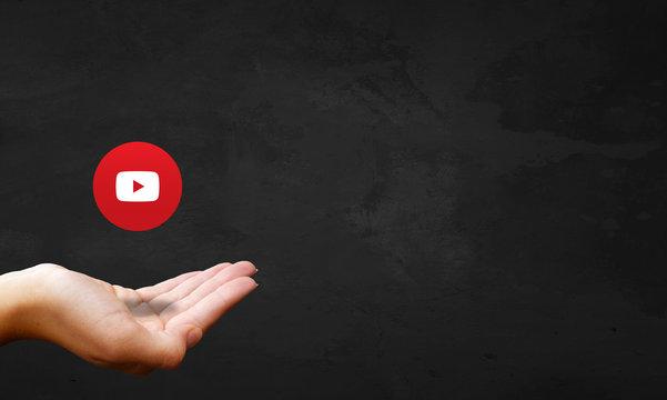 Chalkboard Hand - YouTube