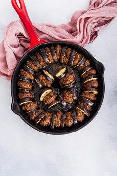 Meatball and Eggplant Casserole