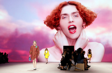 Louis Vuitton Spring/Summer 2020 women's ready-to-wear collection show during Paris Fashion Week