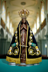 Image of Our Lady of Aparecida - Statue of the image of Our Lady of Aparecida