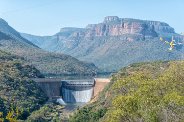 View of the Blyderivierspoort Dam