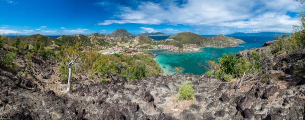 Guadeloupe - Panorama des Saintes depuis le Morne Morel