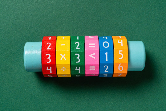 math tool on the green background