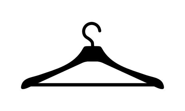 wieszak na ubrania ikona