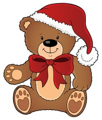 Christmas teddy bear topic image 1