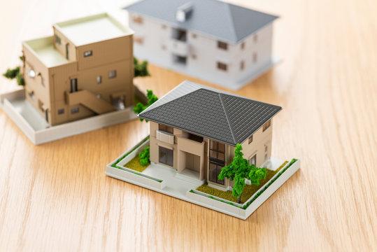 住宅模型 テーブル