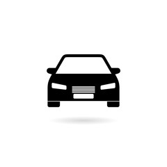 Car icon isolated on white background