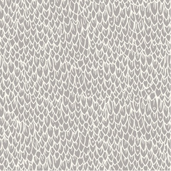 Dragon or fish scales in vector. Bright seamless pattern with reptilian skins