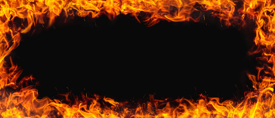 fire texture with black background