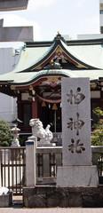 柏神社の石碑