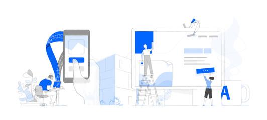 Digital agency team workflow