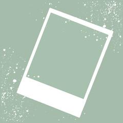 Frame photo, christmas border design vector illustration