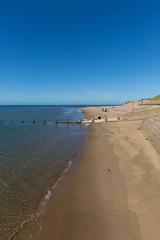 Fototapete - Barmouth beach North wales Snowdonia National Park UK