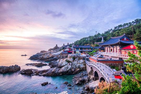 Hae dong yonggungsa temple at basan city south korea