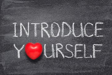 introduce yourself heart