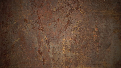 texture of rusty metal background Wall mural