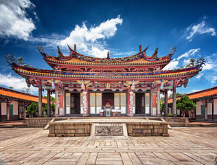 Photo sur Plexiglas Pekin Taipei Confucius Temple in dalongdong Taipei, Taiwan