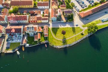 Old city of Sweden in summer, Sweden, Sweden