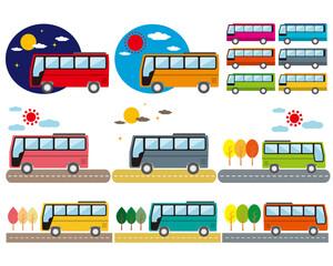 バス 自動車 観光バス 市営バス 木