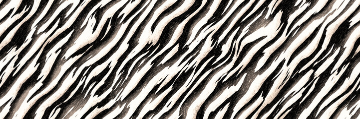Stripes zebra- seamless diagonal line pattern