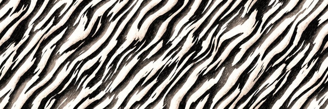 Stripes zebra- seamless diagonal line pattern