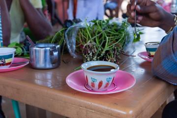 Ethiopian coffee and khat