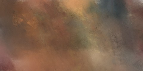 abstract grunge art painting with pastel brown, dark khaki and gray gray color and space for text. can be used for business or presentation background