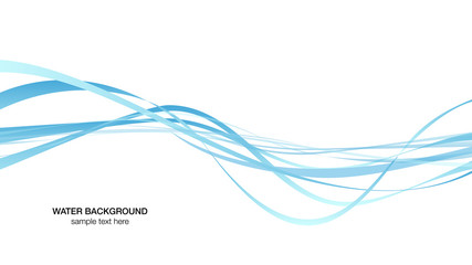 water surface line image, background white vector illustration wallpaper material