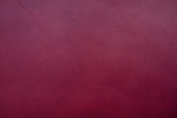 Real leather color Burgundy texture made from cow skin Wall mural