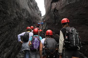 randonnées sur l'Etna Fototapete