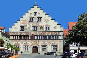 Old town hall of Lindau - Germany.