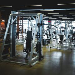 gym modern fitness center room