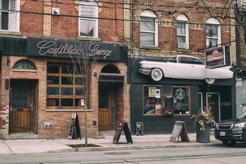 The Cadillac Lounge was a bar and music venue in the Parkdale neighborhood of Toronto, Canada.
